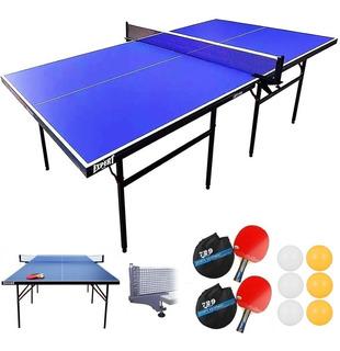 Mesa De Ping Pong Profesional Plegable + Accesorios - El Rey