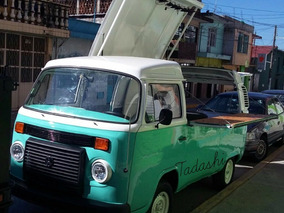 Vw Combi Food Truck Negocio Movil Oportunidad Restaurante