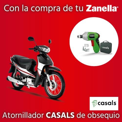 Moto Zb 110cc Con Arranque Electrico Zanella 0km 2019