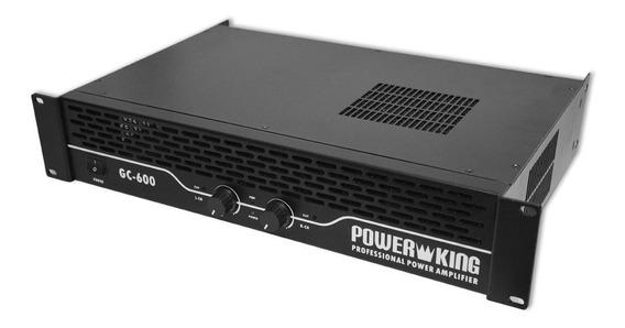 Amplificador Potencia Profesional Gc-600 Power King