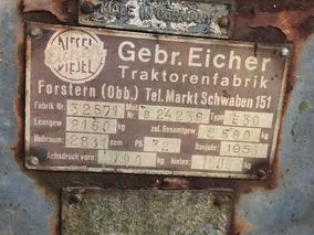Tractor Eicher Alemán