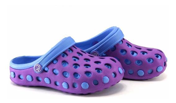 Zuecos Tipo Crocs Zapatillas Orus Del 30 Al 35 X10 Pares