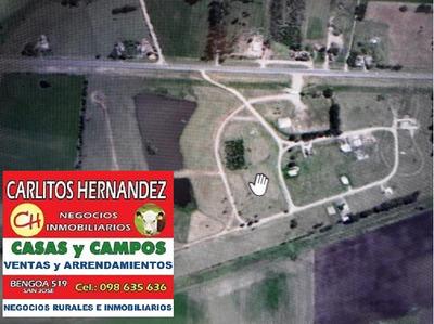 Terreno Grande P Venta En Parque Del Lago Entrega U$ 15.000