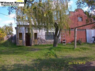 12hás 6189m2 C/ 2 Casas Sobre Ruta 5