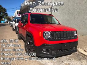 Jeep Renegade 1.8 Automática 13.000kms 2018