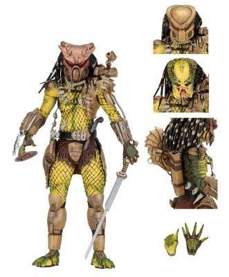Neca Figura De Accion - Ultimate Elder Golden Angel Predator