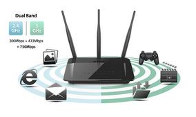 Router D-link Dir-809/lla - Wireless-dual Band- 200m2