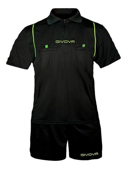 Conjunto Givova Juez Árbitro Camiseta Y Short Mvdsport