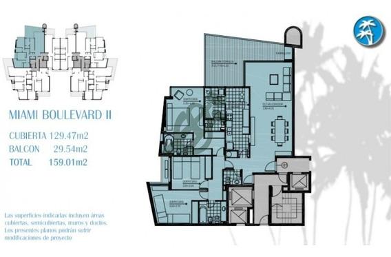 Venta Apartamento 3 Dormitorios + Servicio - Excelente!! - Punta Del Este-ref:4333