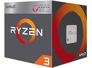 Amd Yd2200 ° C5fbbox Ryzen 3 2200 G Procesador Con Graficos