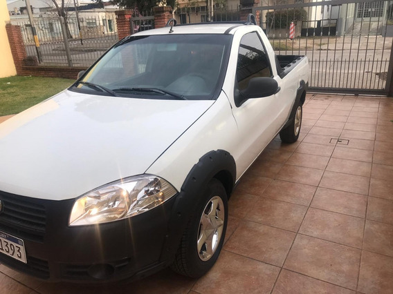 Vendo Fiat Strada Pick Up 1.4 2014 C/ Aire Acond Y Direccion