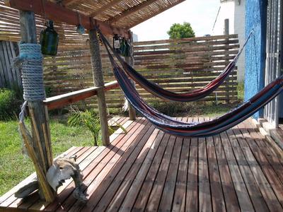 Casa Alq Temporada Playa Hermenegildo (brasil) Cerca De Chuy