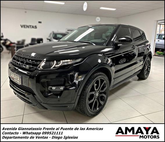 Range Rover Evoque Si4 2.0 2015 !! Black Edition !! Amaya