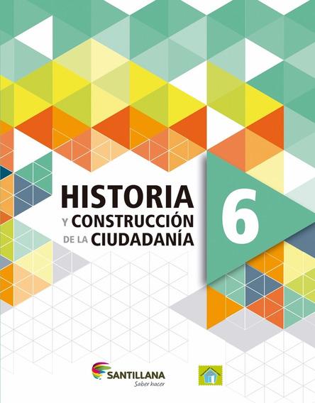 Libro: Pack Historia Geografia 6 / Saber Hacer - Santillana