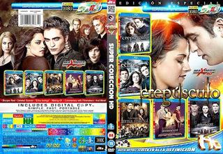 Crepusculo Saga Completa 5 Dvds