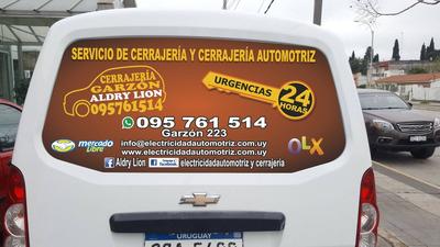 Cerrajería Y Cerrajería Automotriz 24hs Urgencias 095761514