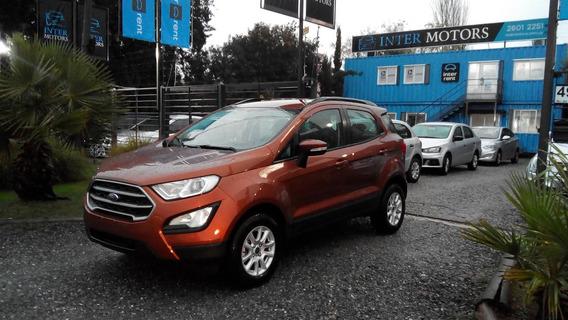 Ford New Ecosport Se A/t U$s 27.990 Intermotors