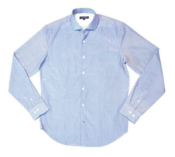 Camisa M/ Larga Estampada 61707161/151 Jean Vernier