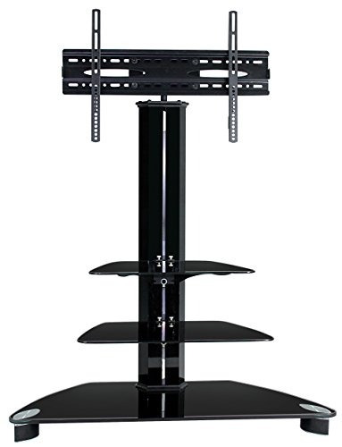 Homevision Technology Lcd8221blk Tv Stand With 3 Shelves