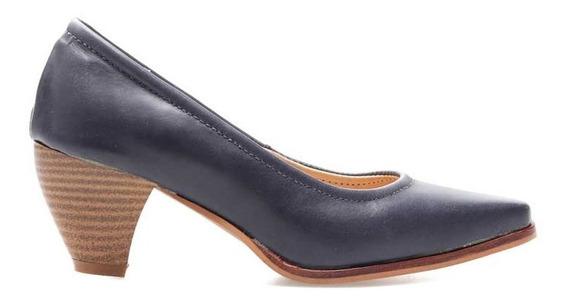 Zapato De Cuero Marcel Calzados (cod.13512) Marrón.