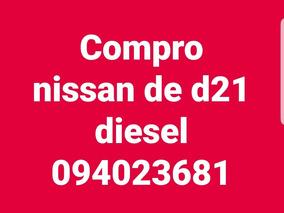 Nissan D21 Doble Cabina Diesel