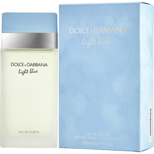 Perfume D Amp G Dolce Gabbana Light Blue 200ml Original
