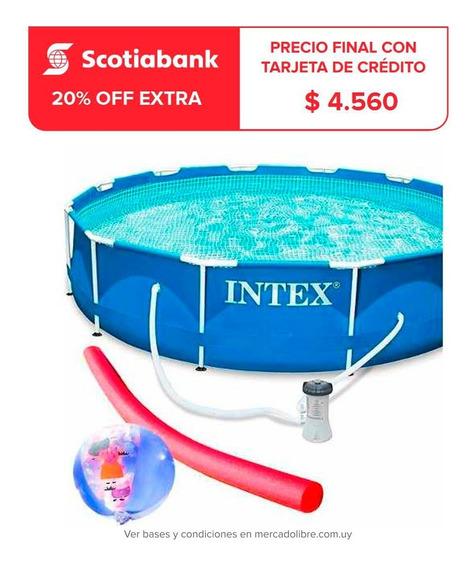 Piscina Intex Estructural 6503 L + Bomba + Regalos - El Rey