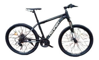 Bicicleta Montaña Rod 26, 21 Veloc Frenos Disco Suspension