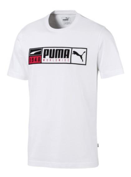 Remera Hombre Puma Gold Plate Brand 580194 - Global Sports