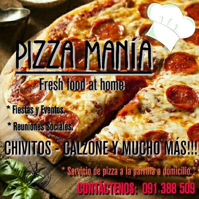 Servicio De Pizza A La Parrilla A Domicilio Para Fiestas..