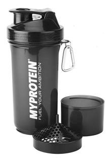 Vaso Batidor Mezclador Shaker 450 Ml Doble De Proteina ®
