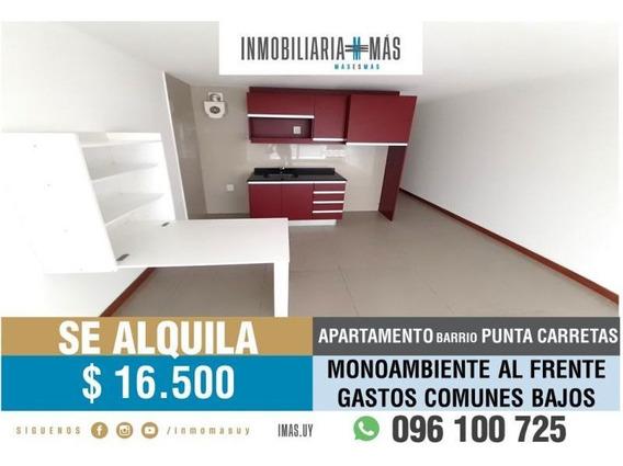 Alquiler Monoambiente Punta Carretas Montevideo Imas.uy F *