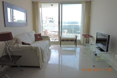 Apartamento En Alquiler Ocean Drive 2 Dormitorios 2 Baños