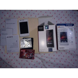 Celular Sony Xperia C1504 Color Blanco