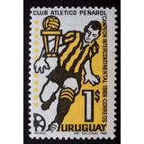 Osl Sello 768 Mint Uruguay Peñarol Campeón Mundial 1966