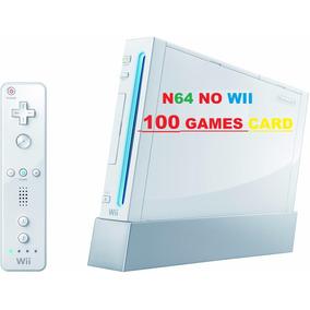 Cartão Sd - Sdcard P/ Nintendo Wii-jogue Nintendo-64 No Wii