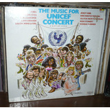 The Music For Unicef Concert Lp Abba Bee Gees Donna Summer