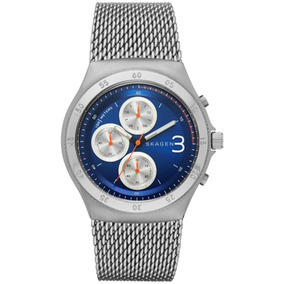 Relógio Dinamarques Skagen Em Titanium Esportivo Outras Marcas ... d05959e141