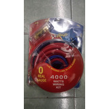 Stinger Kit De Cables #0 Para Instalacion De Amplificador