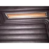 Panel De Puerta Tapizado Coupe Chevy Con Simil Madera Y
