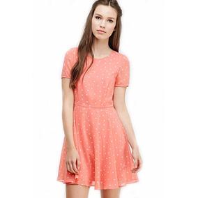 Vestidos cortos color rosa coral
