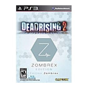 Box Do Jogo Dead Rising 2 Zombrex Edition Da Capcom Para Ps3