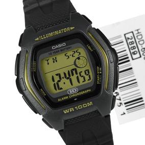 817cbfae9ae Relogio Casio Hdd 600 Preto ouro Alar Crono 100m Hdd600 Db36