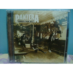 Cd Pantera - Cowboys From Hell - Duplo Nacional
