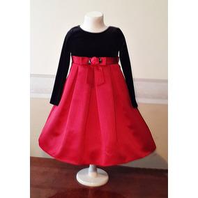 Vestido Importado Nena Bautismo, Casamiento, Fiesta 4-5 Años
