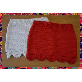 Pollera Tejido Crochet