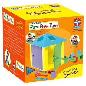 Coleção Pim Pam Pum Casa Das Chaves Da Estrela