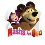 Masha Y El Osos - Serie De Tv - Lámina 45x30 Cm.