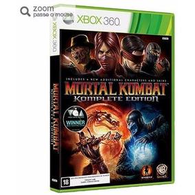 Game Mortal Kombat Komplete Edition - Xbox 360 - Warner Bros