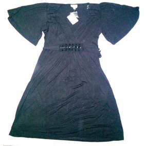 Sexy Y Elegante Vestido De Noche Eci New York Color Negro